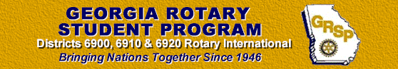 Georgia Rotary Student Program | Bringing Nations Together Since 1946