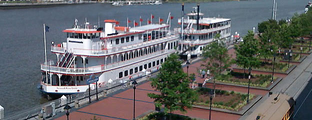 Riverboat on Riverstreet, Savannah, GA