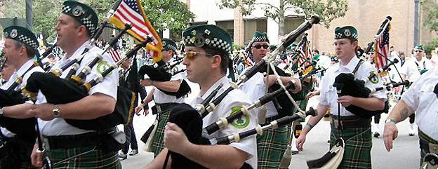 St. Patrick's Day Parade - Bagpipes
