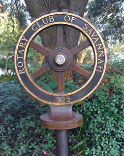 Rotary Club of Savannah Monument
